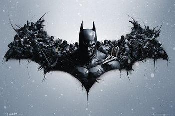 Batman Origins - Arkham Bats - плакат (poster)