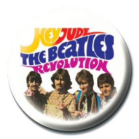BEATLES - Hey Jude/Revolution Insignă