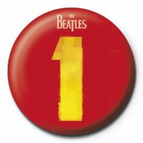 BEATLES - number 1 Insignă