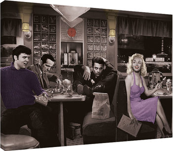 Bilden på canvas Chris Consani - Blue Plate Special