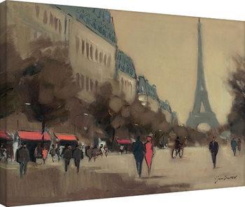 Bilden på canvas Jon Barker - Time Out in Paris
