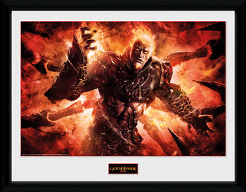 God of War - Ares gerahmte Poster