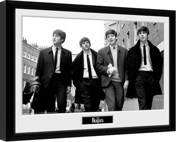 The Beatles - In London gerahmte Poster