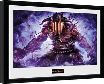 God of War - Hades indrammet plakat