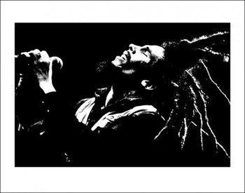 Bob Marley (B&W) kép reprodukció