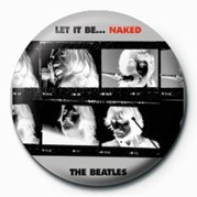 BEATLES (LET IT BE NAKED) button
