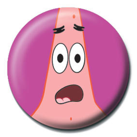 SPONGEBOB - patrick face button