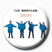 Button BEATLES (HELP! PHOTO)