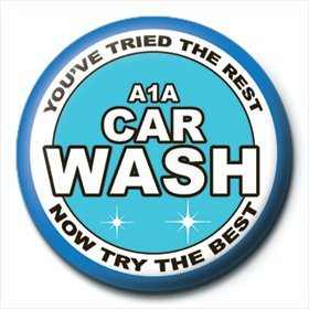Button Breaking Bad - A1A Car Wash
