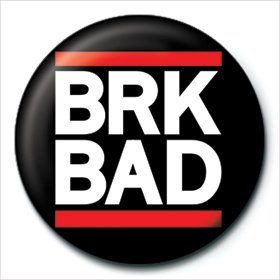 Button Breaking Bad - BRK BAD