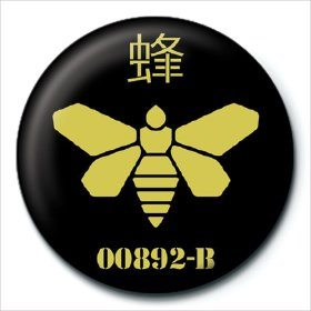 Button Breaking Bad - Golden Moth