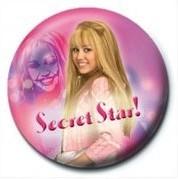 Button HANNAH MONTANA - Secret Star