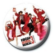 Button HIGH SCHOOL MUSICAL 3 - Graduation Jump
