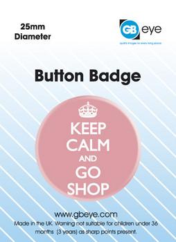 Button KEEP CALM & GO SHOP