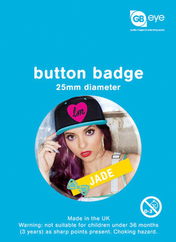 Button LITTLE MIX - jade