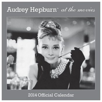 Calendar 2014 - AUDREY HEPBURN Calendar 2017