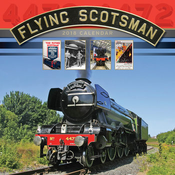 Flying Scotsman Calendar 2018