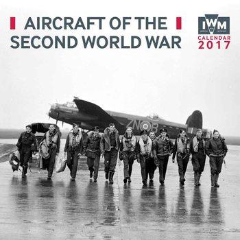 IWM - Aircraft of the Second World War Calendar 2017