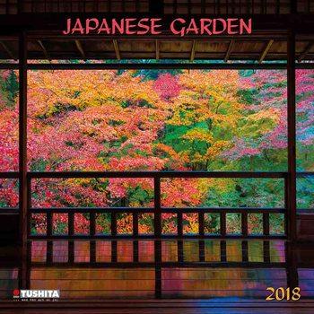 Japanese Garden Calendar 2018