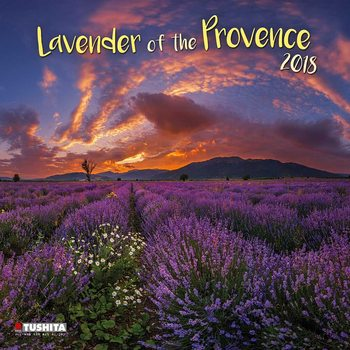 Lavender of the Provence Calendar 2018