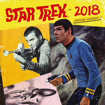 Star Trek - TV Series Calendar 2018