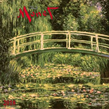 Calendario 2018 Claude Monet
