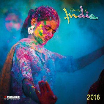 Calendario 2018 Colours of India