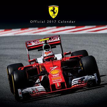 Calendario 2017 Ferrari F1 2017
