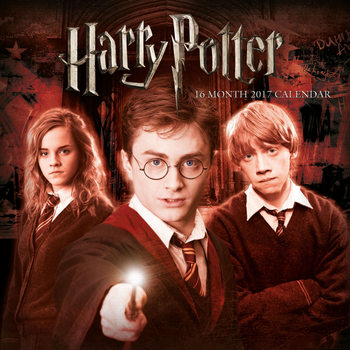 Calendario 2017 Harry Potter