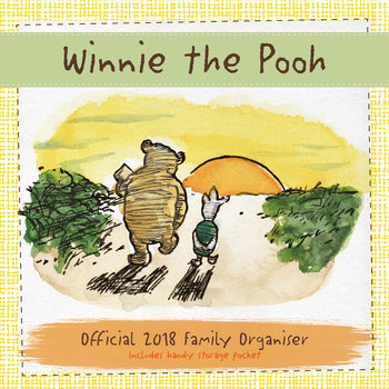 Calendario 2018 Winnie the Pooh