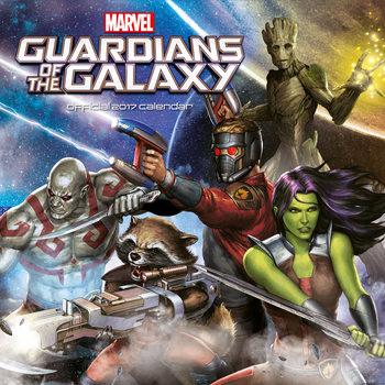 Calendar 2017 Guardianes de la galaxia