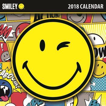 Calendar 2018 Smiley