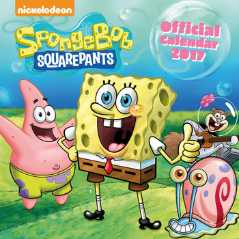 Calendar 2017 Spongebob