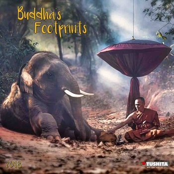 Buddhas Footprints Calendrier 2018