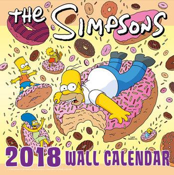 Les Simpson Calendrier 2018