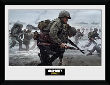 Πλαισιωμένη αφίσα Call Of Duty: Stronghold - WWII Comraderie