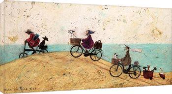 Sam Toft - Electric Bike Ride canvas