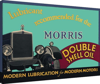 Shell  - Morris, 1928 canvas
