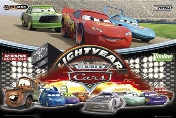 CARS - world of - плакат (poster)