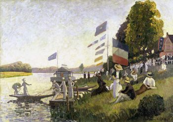 Carta da parati Camille Pissarro - Regatta