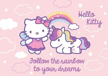 Carta da parati ciao Kitty