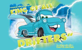 Carta da parati Disney Cars