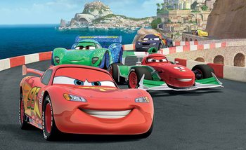 Carta da parati Disney Cars Lightning McQueen Bernoulli