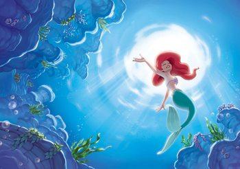 Carta da parati Disney La Sirenetta Ariel