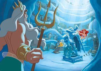 Carta da parati Disney La Sirenetta