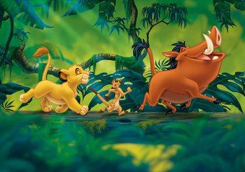 Carta da parati Disney Lion King Pumba Simba