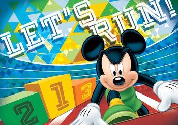 Carta da parati Disney Mickey Mouse