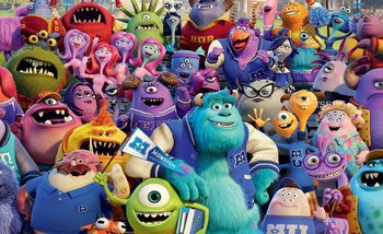 Carta da parati Disney Monsters Inc
