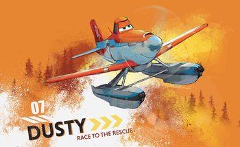 Carta da parati Disney Planes Dusty Crofopper