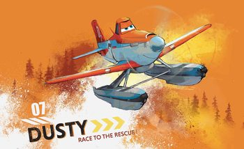 Carta da parati Disney Planes Dusty Crophopper